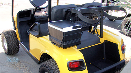 golf cart coolers and brackets