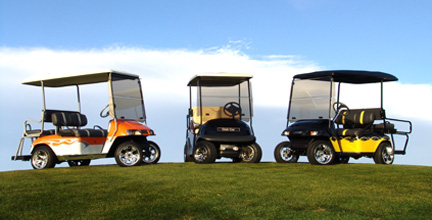 golf cart picture gallery