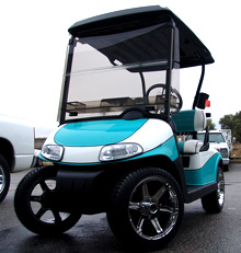 custom ez-go golf cart